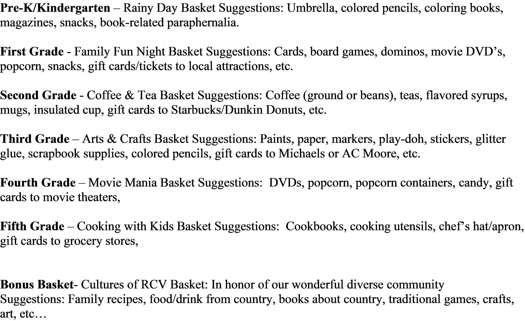 Silent Auction Gift Baskets_Donation Ideas