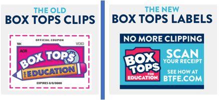 Old vs New Box Tops